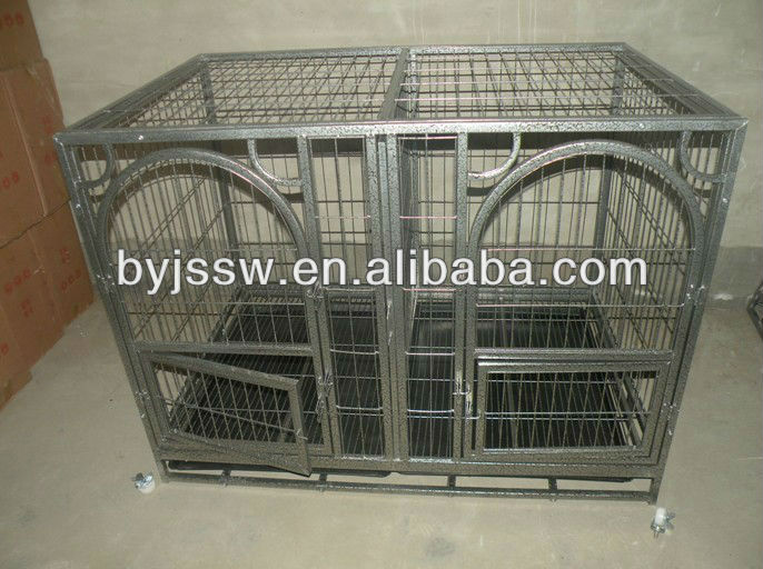 Pink Pet Dog Cages