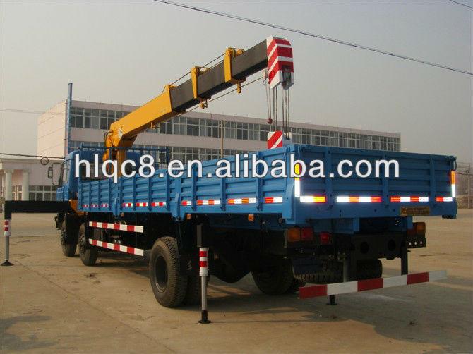 Dongfeng Truck Crane 8 Ton