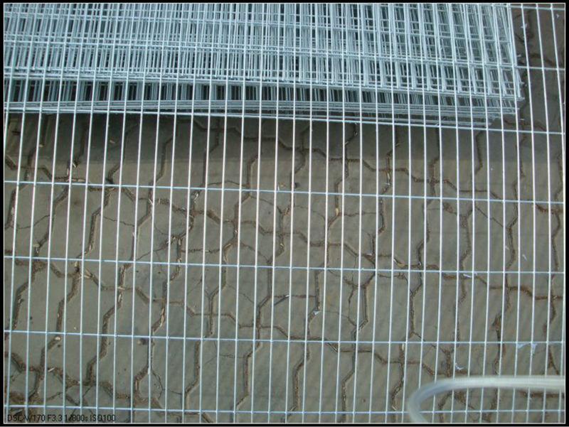 Galvanized Welded Wire Mesh Concrete Galvanized Welded Wire
