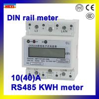 DDS228 10А серию однофазный din сообщение rs485 счетчика активной энергии железнодорожных lcd кВт.ч метр
