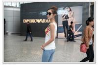 Женский топ Korean version 2013 summer new fashion women's wild slim vest bottoming shirt printing t-shirts blouses women