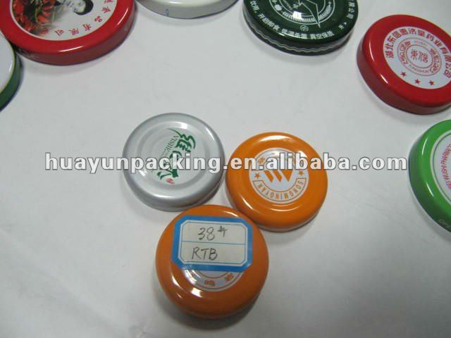 Bottle Safety Button 38mm Safety Button Lug Caps