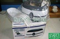Розничная 220v мини ультразвуковой очиститель 600 мл объем стального материала резервуара очки Часы Ювелирные изделия очистьте машину
