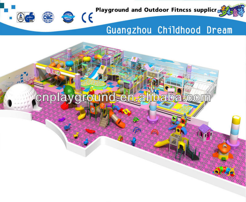 (HC-22336) PARK PLAYGROUND NAUGHTY CASTLE,LARGE THEME PARK 4 FLOOR SOFT INDOOR PLAYGROUND