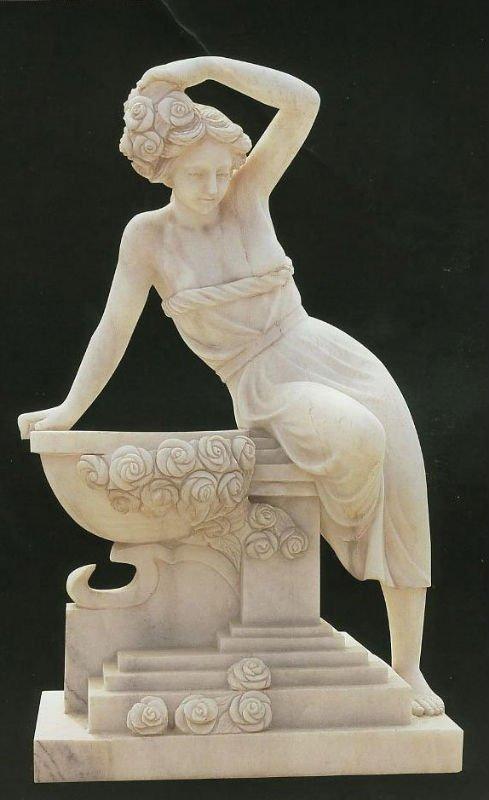 woman stone statue