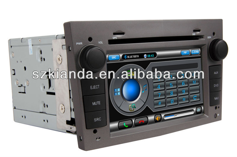 Hot Sale Autoradio Touch screen GPS for Opel Astra/Vectra/Zafria(Dark grey color) with 3G and GPS