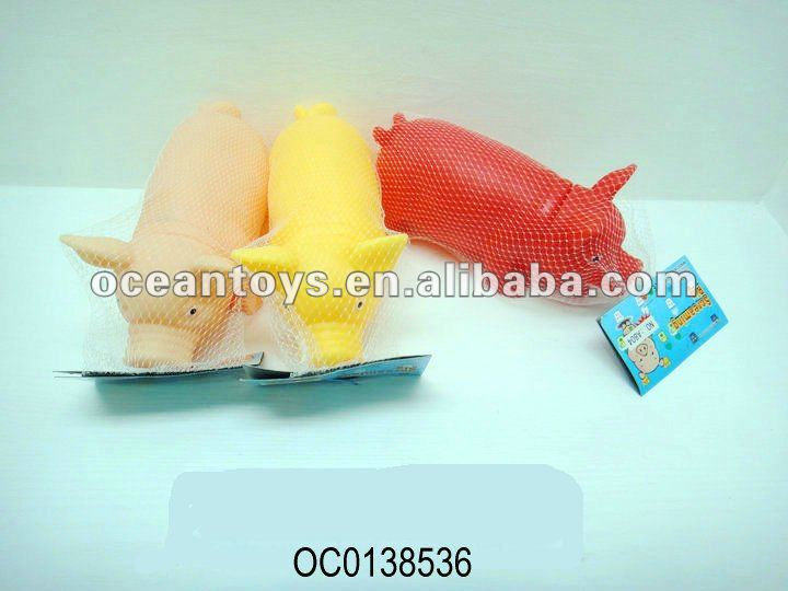 hot selling 41cm shrilling plastic chicken toy OC0127240