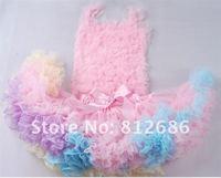 Baby Kids Girls Dancewear Cute Chiffon Tutu Full Pettiskirt Princess