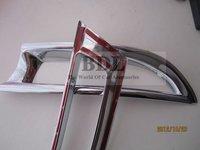 Хромовые накладки для авто ABS Chrome rear fog lamp/light cover frame trim decoration for 2012 Honda CRV