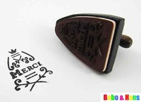 Печать NEW cute vintage iron design French merci stamp / Decorative gift