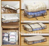 одеяло Бамбук Уголь кровать разрыв Компрессионная одежда отделка коробки для хранения box75l