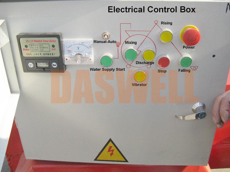 JZC350 Electric Concrete Mixer Machine Price