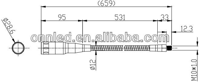 LED Machine Tool Light M10B