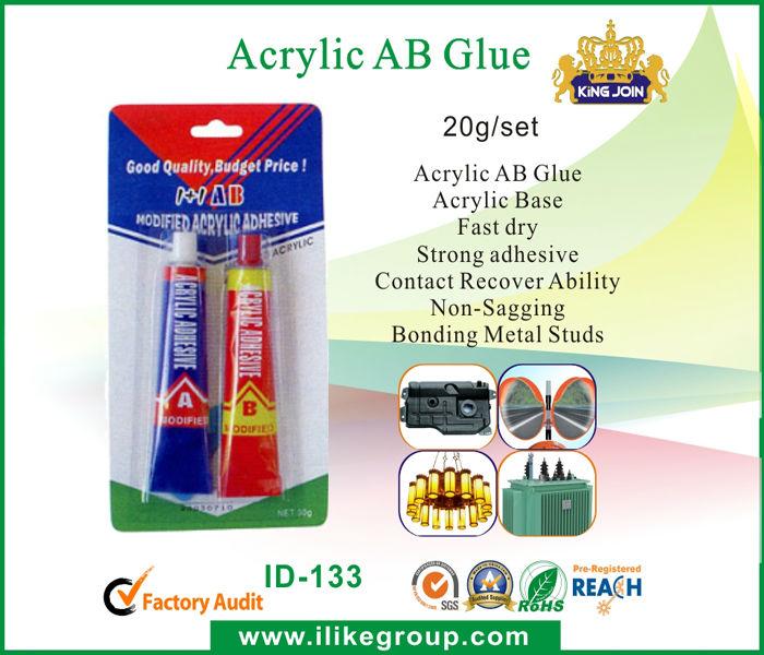 Acrylic AB Glue of 2012 Contain Fair