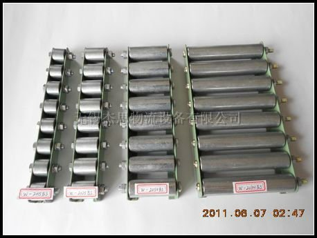 JS Metal frame skate wheel roller conveyor, small conveyor W-2523BS