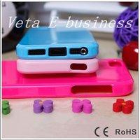 Чехол для для мобильных телефонов Retail and Mobile Phone Accessory Parts, 5 Colors TPU Case Cover for Apple iphone 5 5g