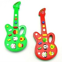 Novel Electric Guitar Music Toys Music Instrument Guitar Baby Electronic Guitar Toys With 12 Kid's Song