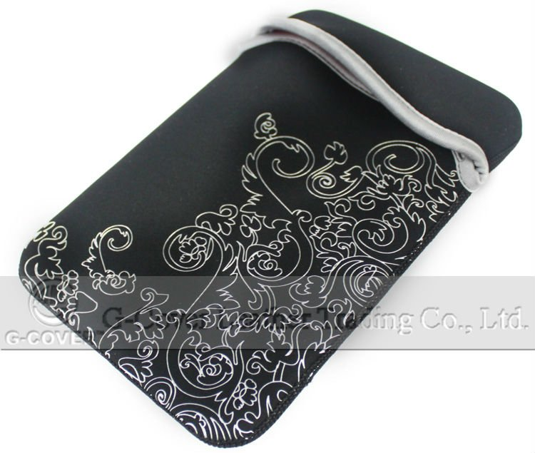 neoprene bag for iPad mini,reversible neoprene sleeve for mini iPad