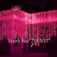 Рождественские украшения 110V-220V Hot Sales 3* 6meters/strip, /Christmas Led Light Strips/38 Led lights/waterfall Christmas led lights