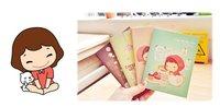 каваи девушка дневник, ноутбуки, милый ноутбук, журнал Блокнот, блокноты, новинки, прекрасные Канцтовары