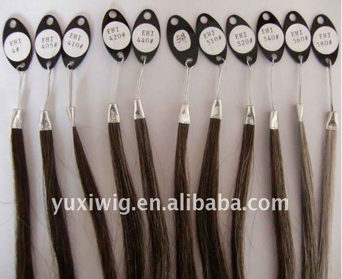 خصلات شعر وذؤابات مصنع المرأة شعر