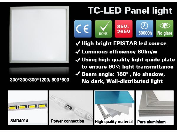 2014 led panel CRI85 mexico manufacturer 2x4 led panel light.ltd china
