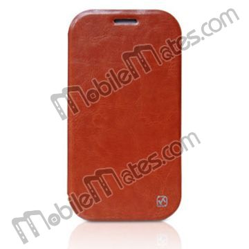 Luxury HOCO Royal Duke Series Vertical Flip Pouch Leather Case for Samsung N7100 Galaxy Note 2 with Wallet Card Slots