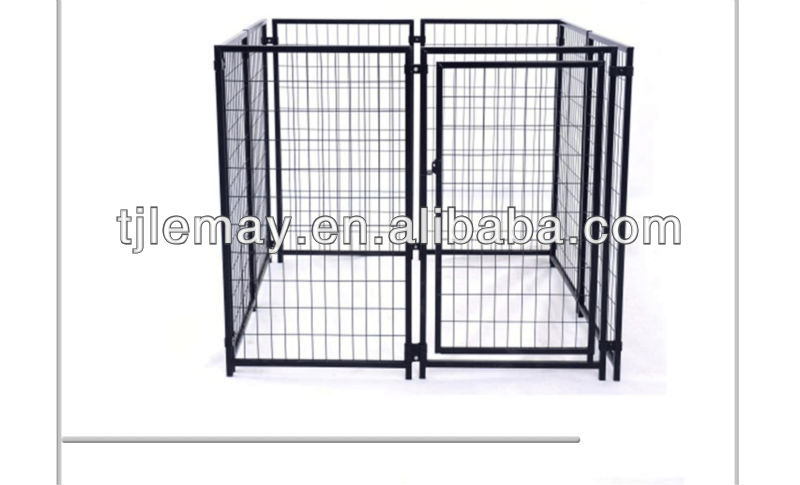 5x5x4 foot portable modular panels dog kennel