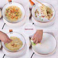 26 см Эко дружественных здоровое керамическое покрытие антипригарной сковороде, 4 цвета