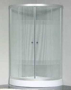 Simple glass bath enclosure JS-7901