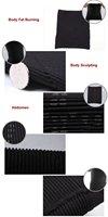 Мужская корректирующая одежда 2013 Breast Massage Seamless male men's slim body shaper belt as underwear Cool Sexy Black