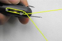 Strand хор двусторонней иглой рыбалка knots уровня нитка рыбалки крючок галстук устройство Рыболовная оснастка проста в использовании
