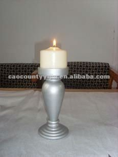 cheap wooden candle holder