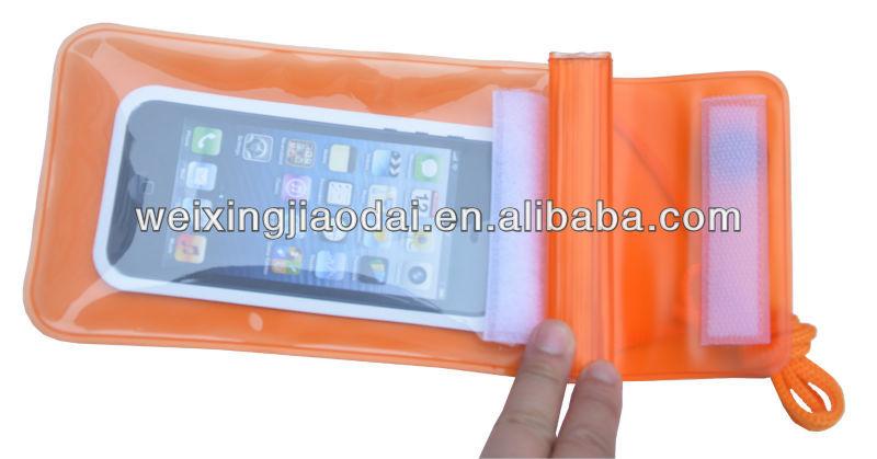 Hand phone Waterproof Case Bag For Iphone-5 Smart Phone