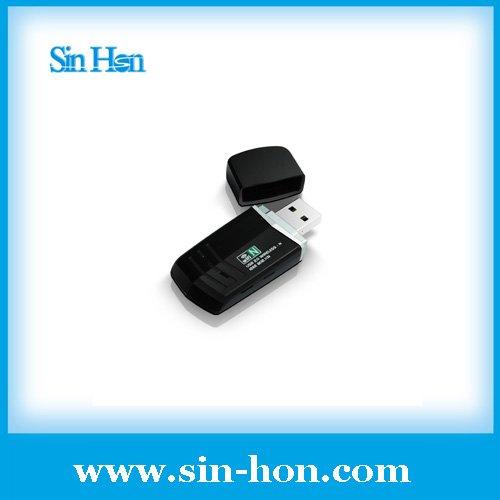 300Mbps USB Network 802.11n/g/b LAN Adapter Card Wireless USB WiFi Wi-Fi Adapter