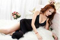 women's Sexy lingerie, pajamas, transparent gossamer suit, maxiskit, BRA0007