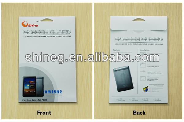 Manufacturer! anti-glare high transparent anti fingerprint laptop matte lcd screen protector for ipad mini