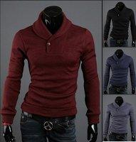 Мужской пуловер CHIC Funky Black Fashion Casual Designer Men's Knitting Sweaters #MS171