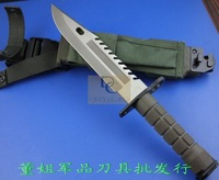 Охотничий нож Northern military D80 excellent quality 58HRC U.S. military Knife&survival knife&hunting knife Rubber Handle