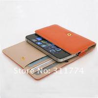 Чехол для для мобильных телефонов Ultra Shield Pocket Leather Case For iPhone 4S 4G, For Smart Phone