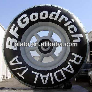 inflatable tire/tyre models for advertising and attraction