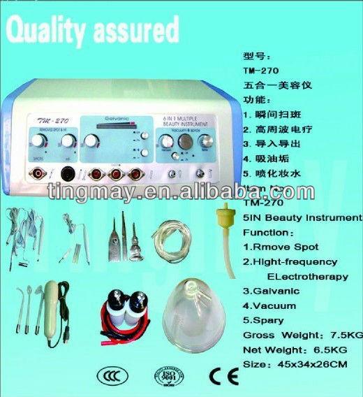portable microcurrent facial beauty machine tm-270