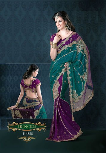 Wedding Function Saree