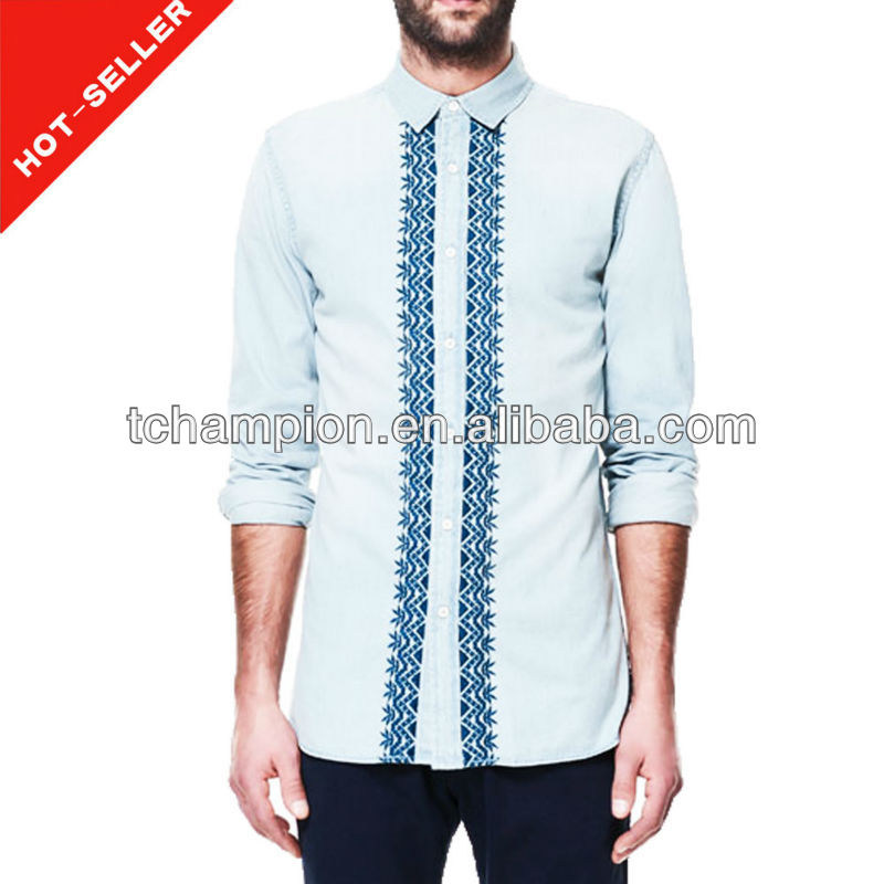 (# TG553SH ) 2014 new model casual latest shirt designs for men