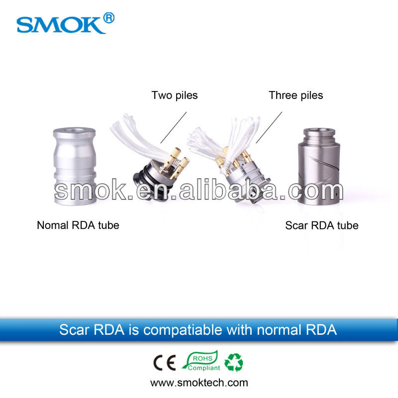 SMOKTECH new released nimbus drip atomizer huge vapor ecig atomizer New nimbus rebuildable atomizer