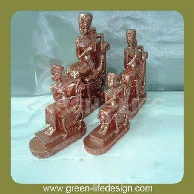 de hogar, el arte egipcio-Artesanías de Resina-Identificación del
