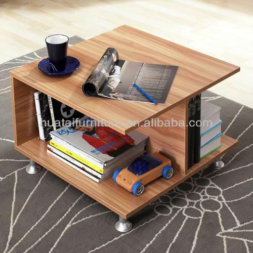 작은 간단한 사각형 커피 테이블 소파 측 엔드 테이블 차 테이블 ...