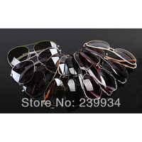 Женские солнцезащитные очки women brand designer 2013Fashion popular retro fashion elegant metal star Sunglasses Bans Holiday Sunglasses men