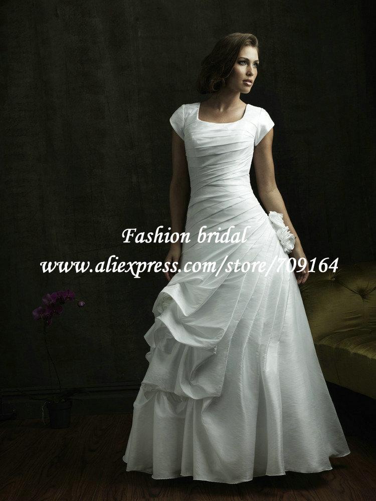 Платье с рукавами высокая шея с