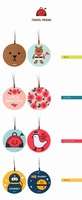 Free Shipping/New fashion PVC Luggage tag / 2 pcs/set travel tag / package label / Wholesale